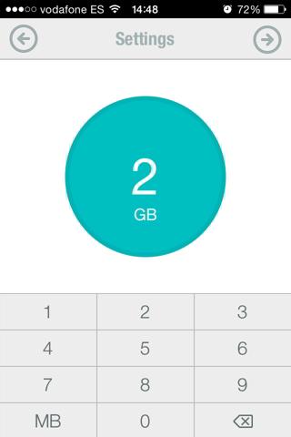 datos en iPhone 2