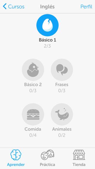Aprender idiomas en iPhone