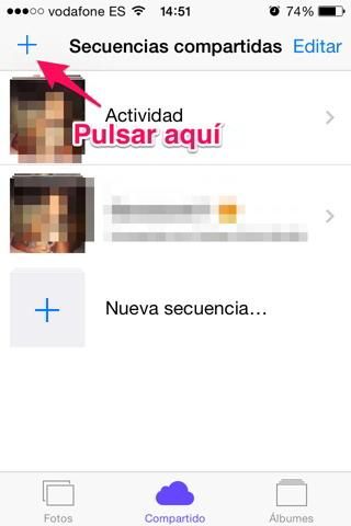 fotos en iCloud 1