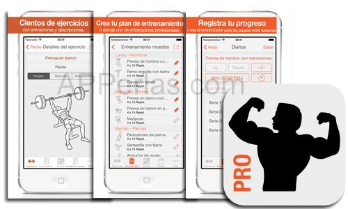 Fitness Point PRO tablas de ejercicios