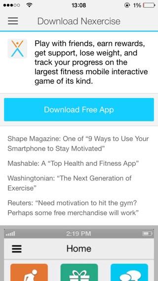 App con Vídeos de ejercicios