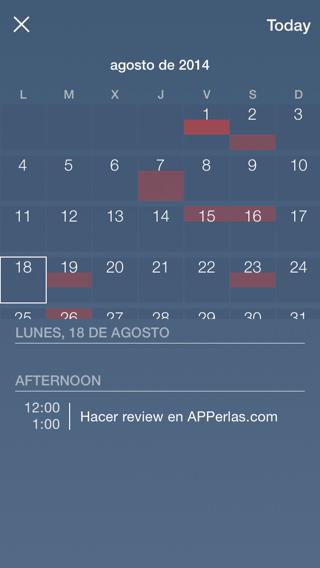 App para organizar tareas en iPhone