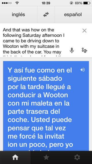 Traducir textos con iPhone y iPad con apps