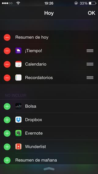 Widgets iOS 8 2