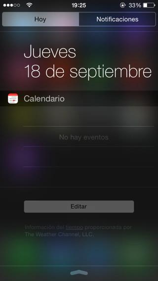 Widgets iOS 8 3