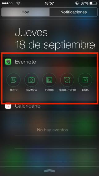 Widgets iOS 8 4
