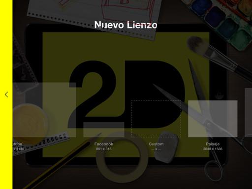 2D app de arte digital