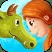 Senda y el Dragón Comilón libro interactivo