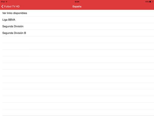 Fútbol gratis en iPhone