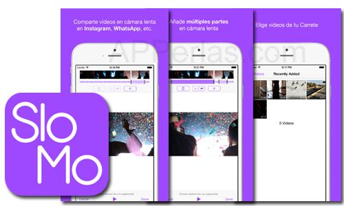 Truslomo app para enviar vídeos a cámara lenta creados con iPhone y iPad