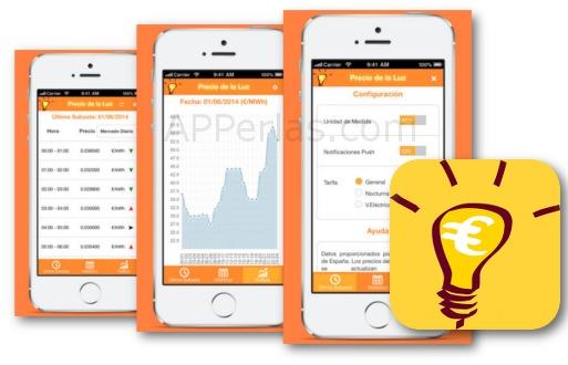 Precios de la luz una app para ahorrar