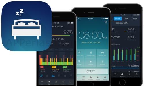 Sleep Better app para analizar el sueño