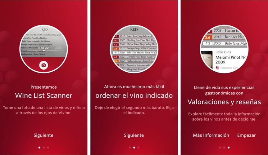 Escáner de vinos