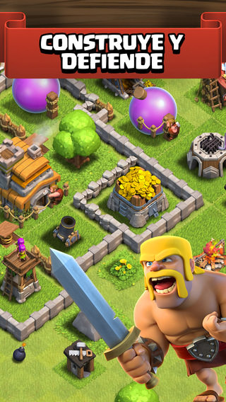 Clash of clans para iOS