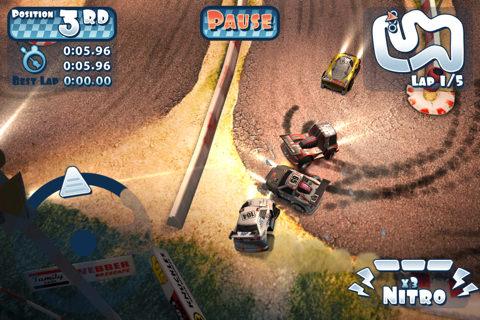 Mini Motor Racing app de carreras de coches para iOS