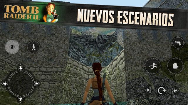 Tomb Raider 2 Nueva app
