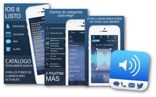 Instala Tonos para iPhone iOS 8