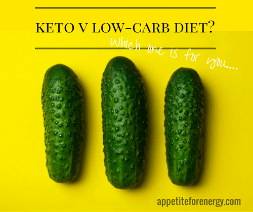 What's the difference bewteen a Ketogenic Diet and a Low-Carb Diet
