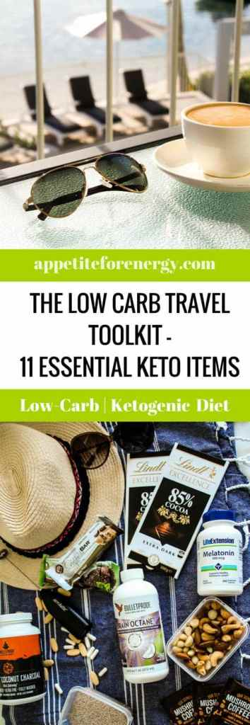 This is the ultimate low-carb travel toolkit. I show you the food and gadgets that I pack to keep me on track while away from home.
