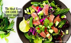 The Best Ever Low-Carb Thai Beef Salad