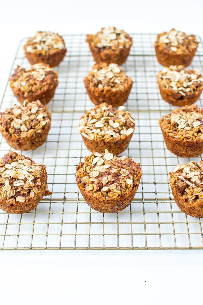 dried fig oatmeal muffins | Appetites Anonymous