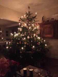 Lisbeths juletræ i 2015, foto: privat