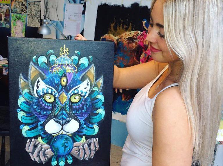 Kunstneren Frida