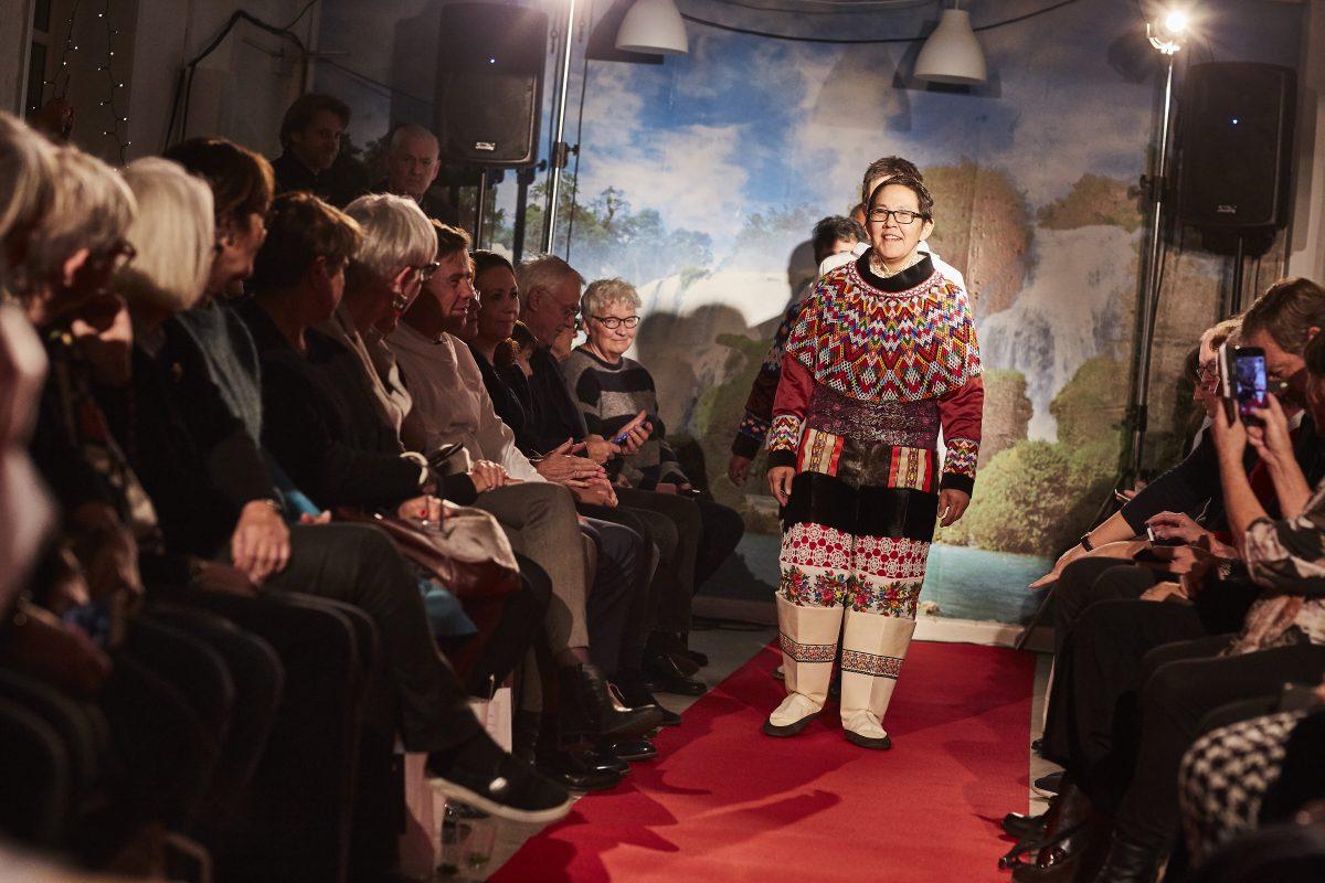 Grønland hyldet med flot modeshow på Kofoeds skole i Aalborg