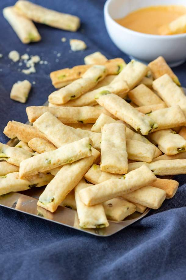 Homemade Mini Jalapeno Breadsticks