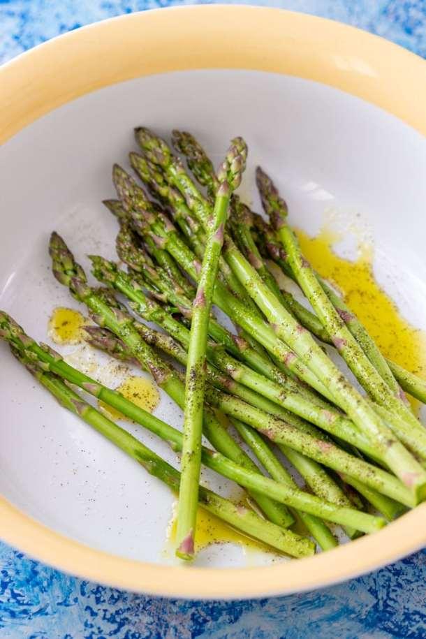 Parmesan Asparagus Pastry Twists Prep