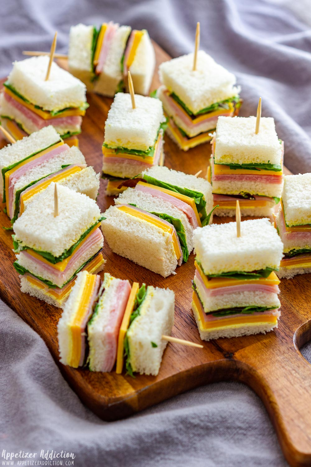 Mini Sandwiches for Party - Appetizer Addiction
