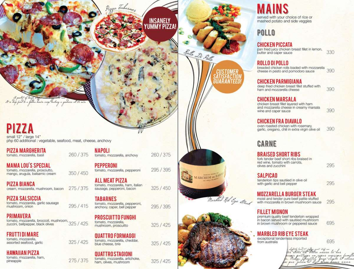 Top 10 Musts At Mama Lou\'s Italian Kitchen – Appetizing Adventure