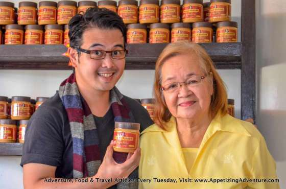 Carlo Lorenzo (me) and Nanay Pacing (Pacita Tolentino)
