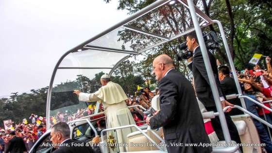Papal Visit in UST January 18 2015 -074