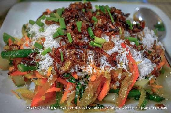 Balinese Veggies Php145