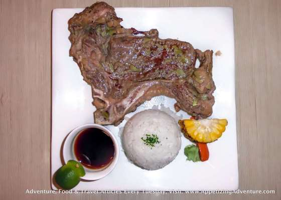 Cowgirl Annie Php164 220g. steak with rice and sides Steak Flavors: Wasabi - Original - Honey Mustard +Php45 for bottomless iced tea/cola +Php45 for rice all you can +Php45 for soup all you can