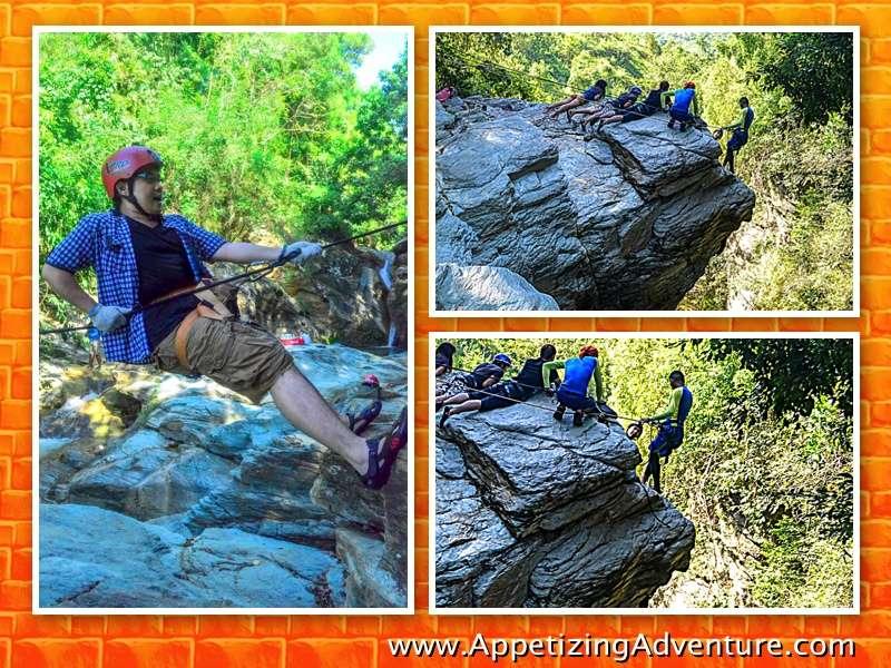 Mapawa Nature Park Cliff Rappel