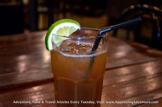 Latin Iced Tea Php90 per glass