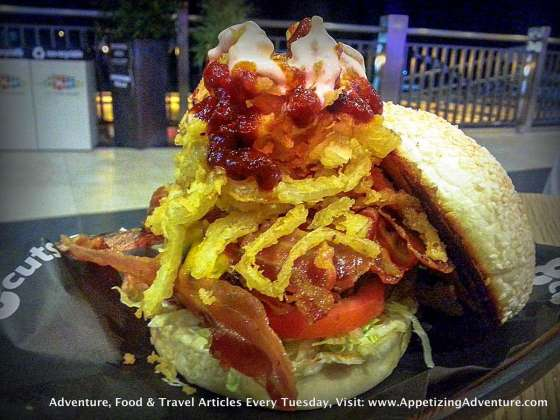 The Q-Daddy Tri-Cut Php295 / Double Patty Php385