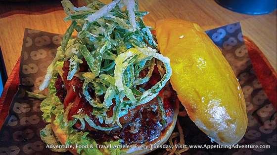 Bleu Burger Single Patty Php245 / Double Patty Php345