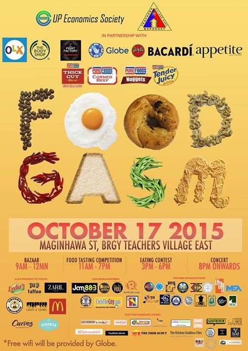foodgasm poster 2015
