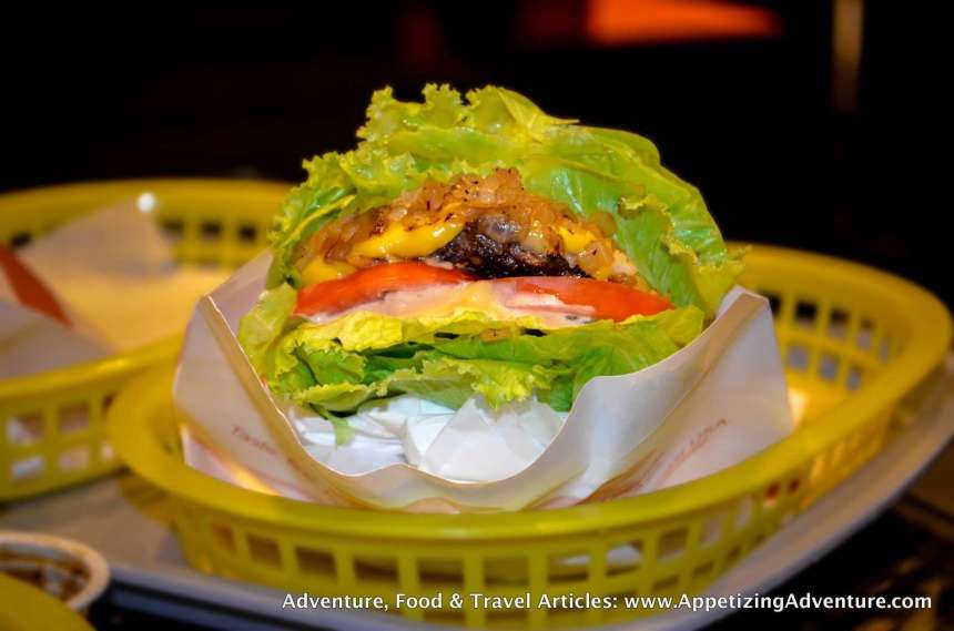 Low Carb Style Caliburger Php195