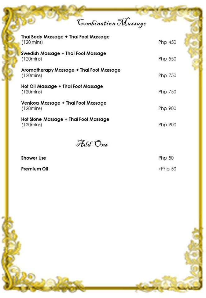 Baan Khun Thai Rates 1