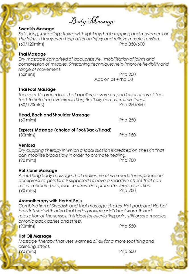 Baan Khun Thai Rates 2