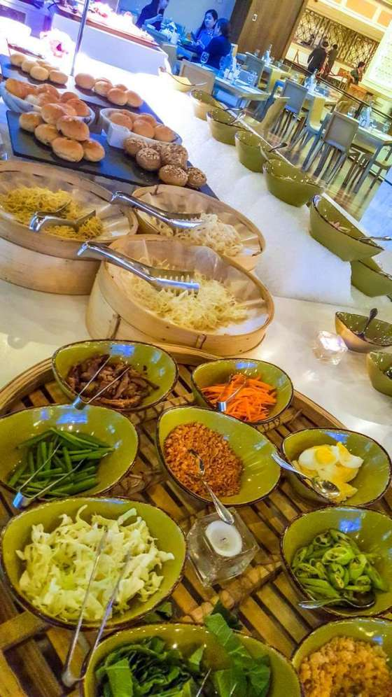 Central Park Island Buffet Php550 per person Php250 per person when added to your main course