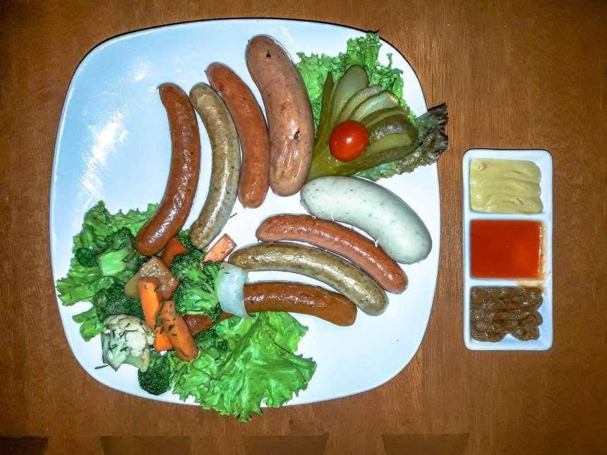 Sausage Platter Php980
