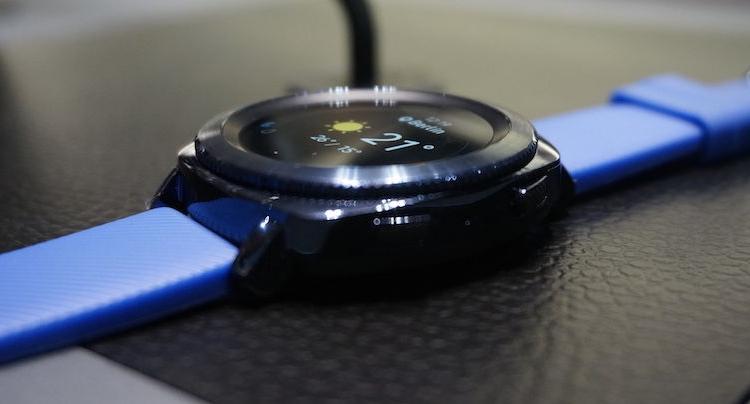 Samsung Gear Sport Smartwatch Video zeigt Funktionen der Uhr