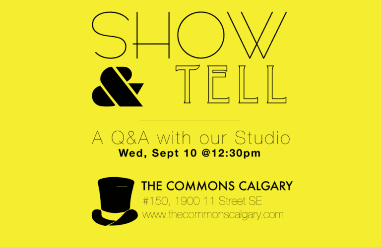 Q & A at The Commons Coworking Space Tomorrow