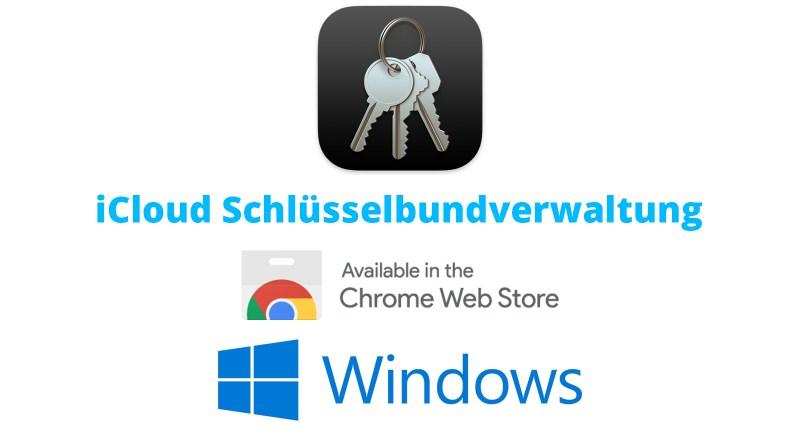 Apple iCloud Schlüsselbund für Windows