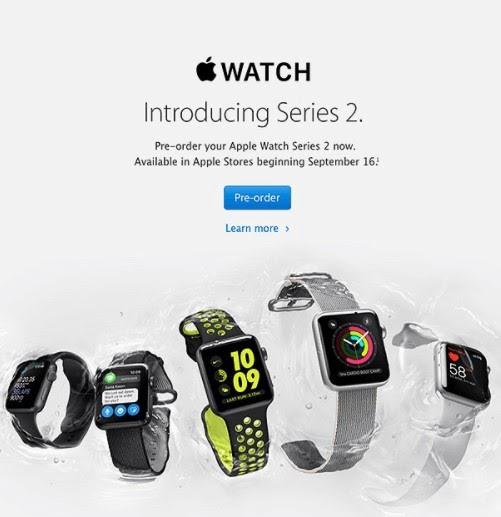 pre-order sales page apple example